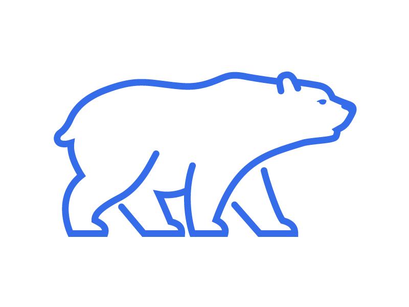 Bear bear branding graphic desgin logo