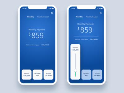 Daily UI 004 - Mortgage Calculator