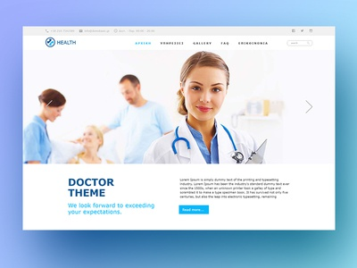 Health Wordpress Template