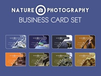 Nature Photography Business Card Templates