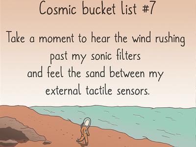 Cosmic Bucket List 7