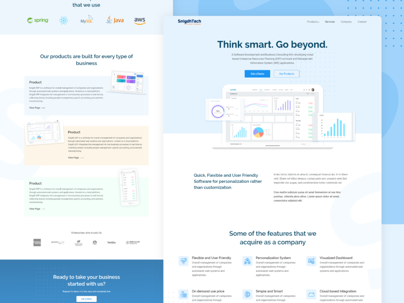 Product Web Design Designs Themes Templates And Downloadable Graphic Elements On Dribbble