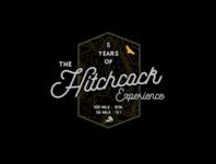 The Hitchcock Experience. drawing brand branding illustration typography logo illustrator type vector design