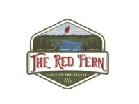 The Red Fern Brand branding brand design illustration typography logo illustrator texture type vector