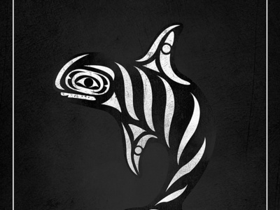 Mock Blackfish Poster whale vector orca movie poster animals seaworld