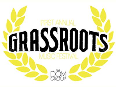 Grassroots Music Festival grassroots music logo brand 311