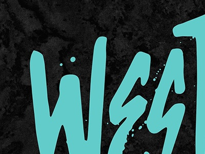 New Brand Preview. tropical designer design typography type punk brand logo west