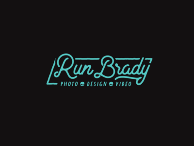 ReBrand RunBrady branding design illustration brand typography logo illustrator type texture vector