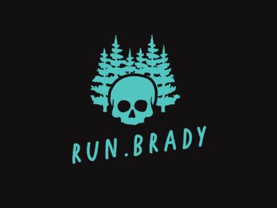 Run.Brady ReBrand drawing branding design illustration logo typography illustrator texture type vector