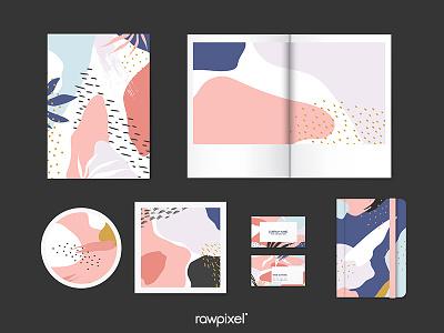 Memphis Background memphis memphis design drawn vector beautiful graphic flower design cute illustration