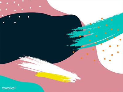 Memphis Background graphic beautiful design cute vector illustration