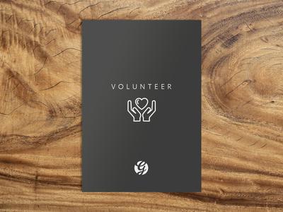 Simple Volunteer Card