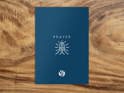 Simple Prayer Card