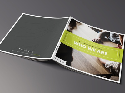 Five & Two Brochure Design