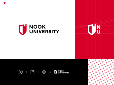 Nook University logo by Taron Badalian