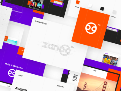 UX/UI & Branding for Zanoo Marketing Agency by Taron Badalian