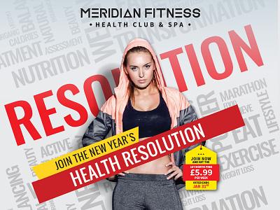 fitness illustration typography design