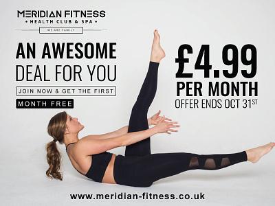 fitness leaflet design