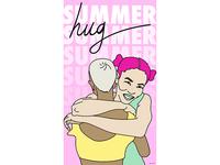 Pastel Hug