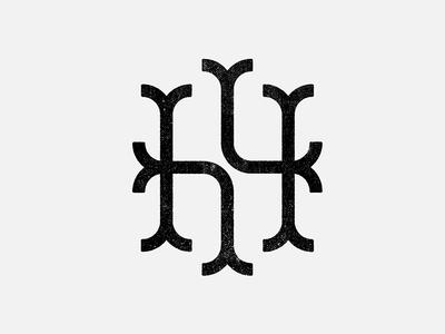 H letterform