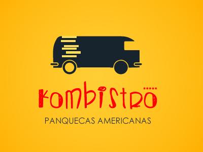 Kombistro amarelo kombi design logo