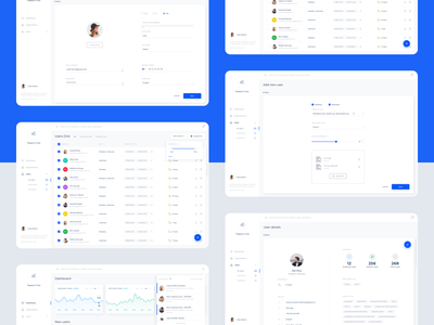 eJust - Dashboards justice arbitration mediation statistic slider line chart dashboard users profile upload file filters lists table charts ui  ux law