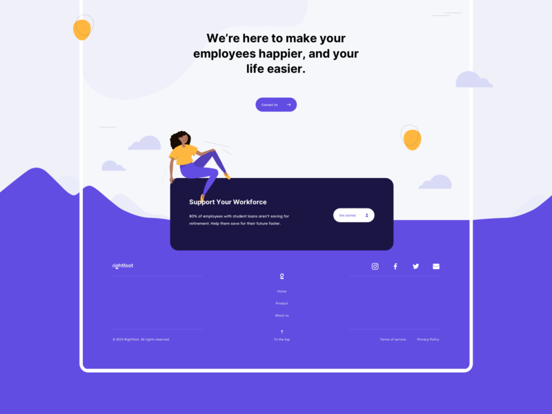 Rightfoot - Product Page