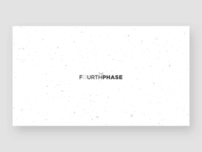 The Fourth Phase website concept