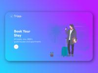 Tripp. - Landing Page