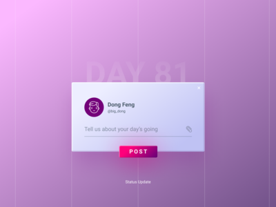 Daily UI Challenge Day #81