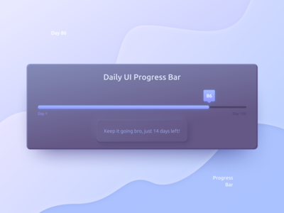 Daily UI Challenge Day #86