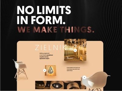 "3form ""We make things"" web design/development"