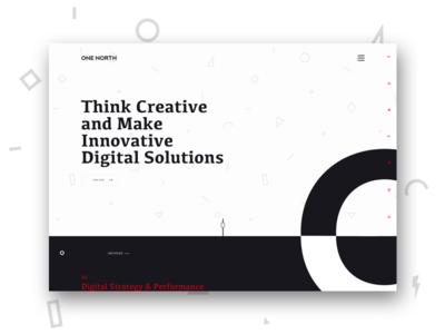 One North Interactive website redesign