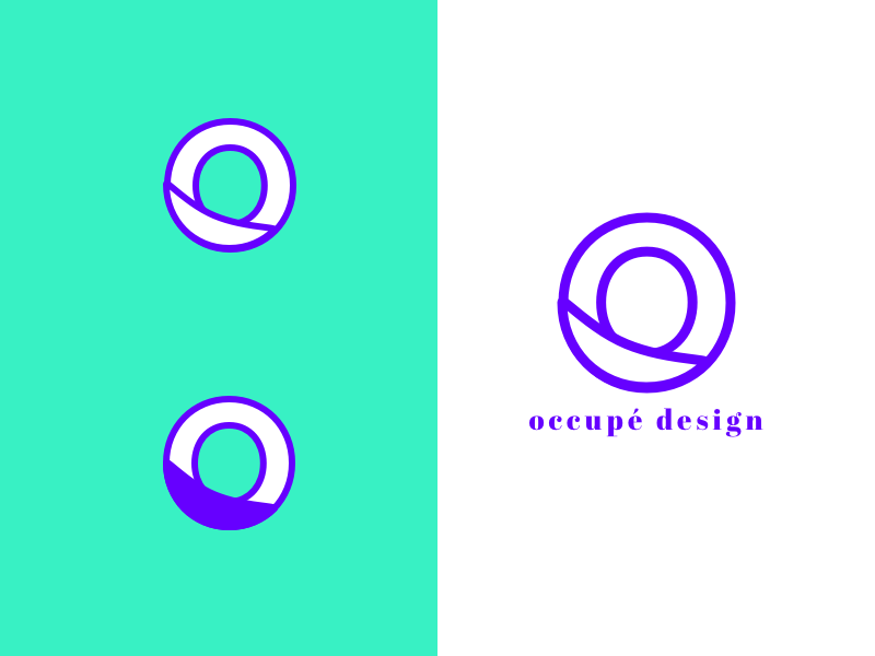 Occupe design custon identity brand logo branding design digital ui ux icon art direction