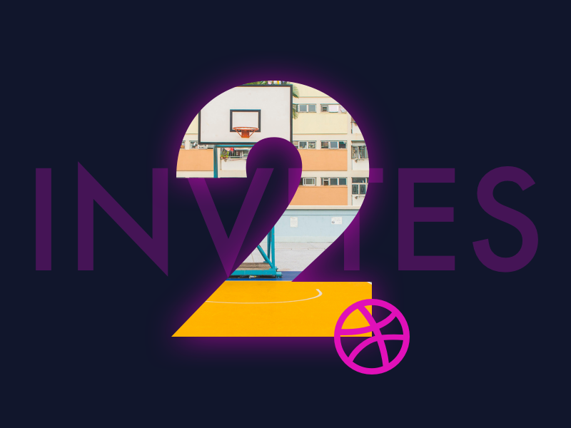 2 invites hip cool new shots dribbble digital web design graphic design design invite