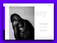 Black History Month 2018 minisite