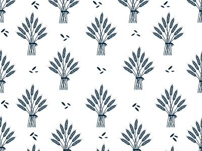 Part of Haystack Seamless Pattern