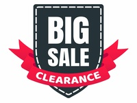 Big sale clearance shield tag ribbon badge