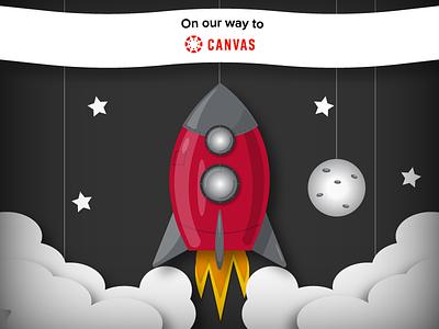 Canvas Migration Communication v2 vector design art graphic design illustration