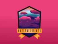 Watermelon Mountain Badge
