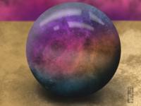Nebulous Orb Illustration