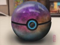 Nebulous Poke'ball