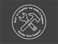 Tech Support Badge