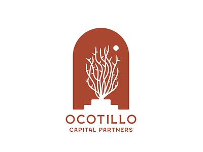Ocotillo Capital Partners branding logo desert ocotillo