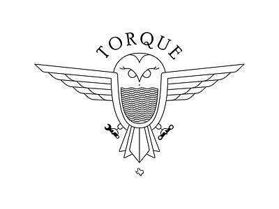 Torque houston rice texas torque bird illustration branding logo