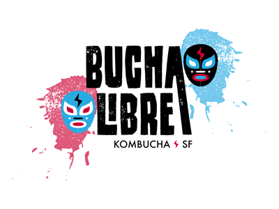 Bucha Libre logo branding