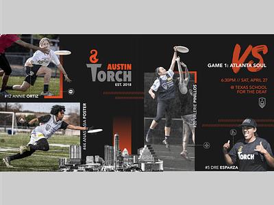 Austin Torch texas austin ultimate frisbee