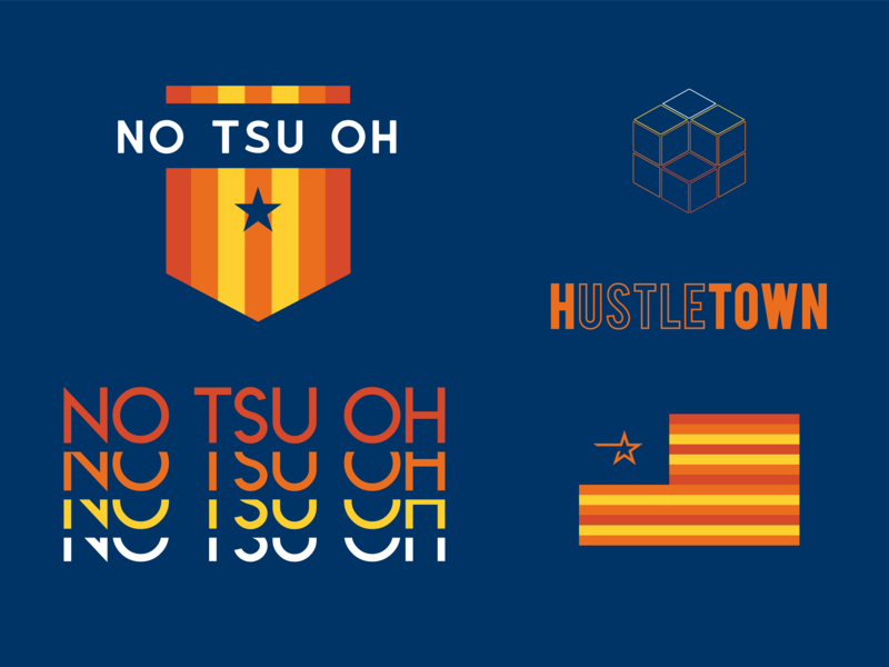 No Tsu Oh houston logo branding astros