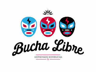 Bucha Libre 2 branding illustration