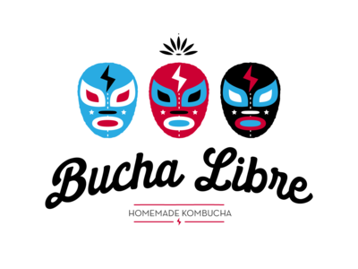Bucha Libre 2 branding illustration